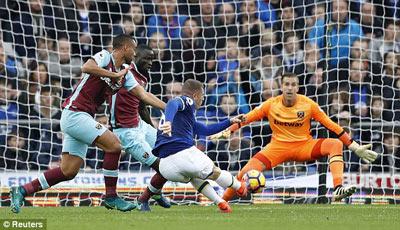 Chi tiết Everton - West Ham: Hiệp 2 tưng bừng (KT) - 4