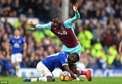 Chi tiết Everton - West Ham: Hiệp 2 tưng bừng (KT) - 5