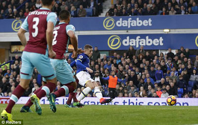 Chi tiết Everton - West Ham: Hiệp 2 tưng bừng (KT) - 9