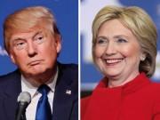 """Thế giới - Bầu cử Mỹ: Trump """"phà hơi nóng"""" vào gáy Hillary Clinton"""