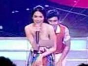 Sốc vì mỹ nữ đẹp nhất Philippines lộ trọn ngực trong show cho thiếu nhi