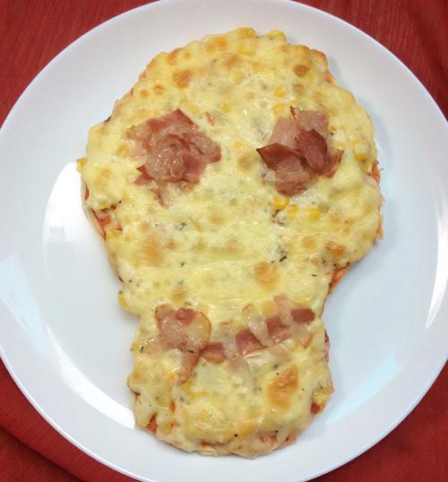 """Halloween làm pizza """"kinh dị"""" nào! - 8"""