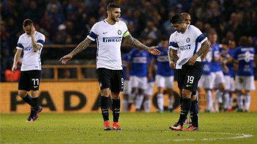 Sampdoria - Inter Milan: Bóng tối trở lại - 1