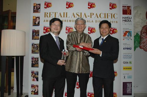 Saigon Co.op thắng giải vàng và top 500 nhà bán lẻ hàng đầu khu vực 2016 - 2