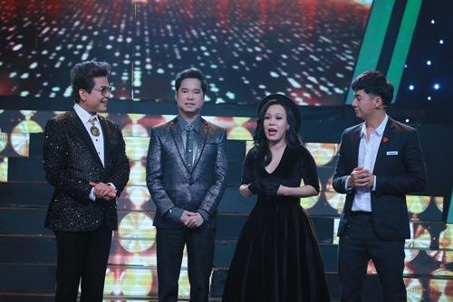 Việt Hương kể xấu Ngọc Sơn trên sóng truyền hình - 2
