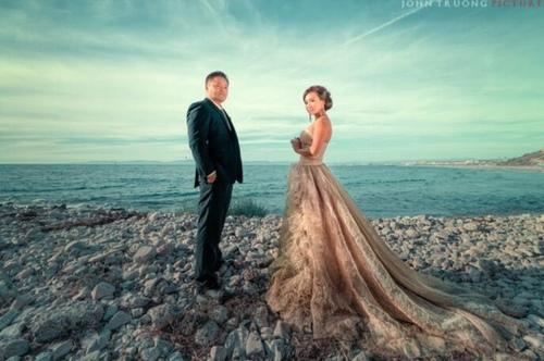 """""""Người tình"""" sexy nhất của Lý Hùng táo bạo mặc bikini chụp ảnh cưới - 4"""