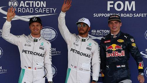 """BXH F1 - Mexican GP: Đua vô địch """"căng như dây đàn"""" - 1"""