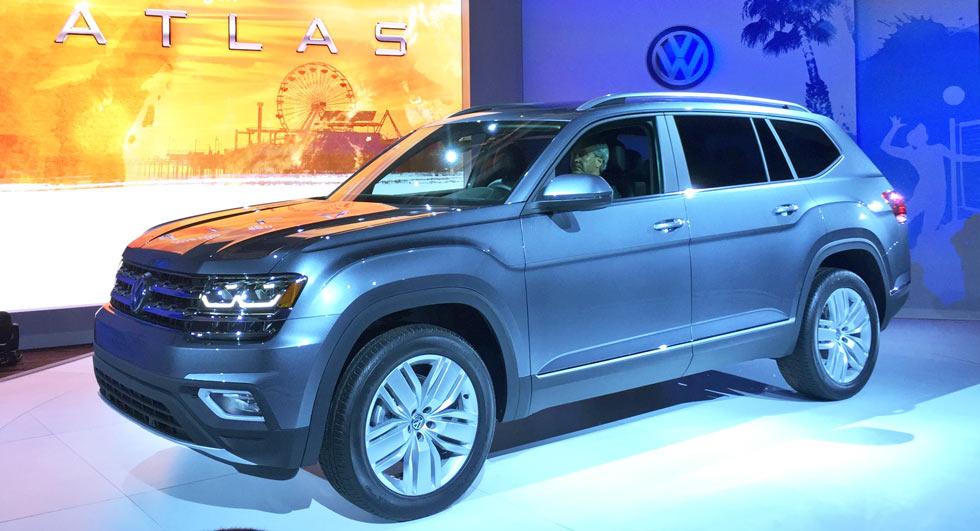 """VW Atlas 2018 - """"Át chủ bài"""" của VW tại Mỹ - 1"""