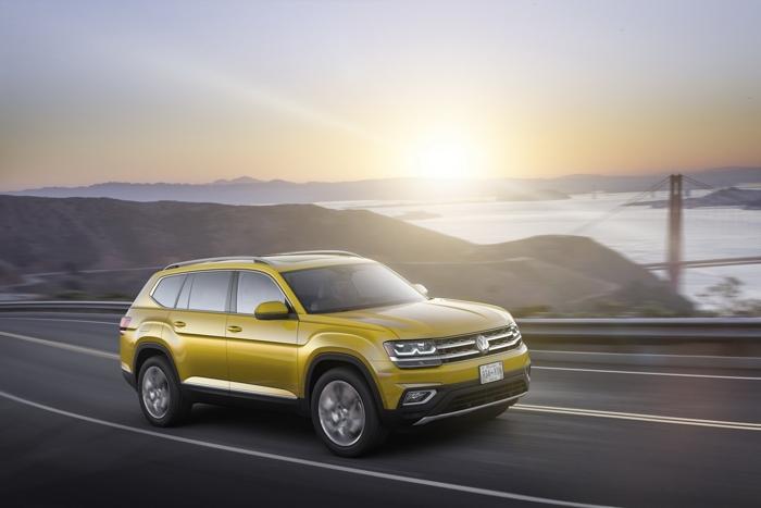 """VW Atlas 2018 - """"Át chủ bài"""" của VW tại Mỹ - 2"""