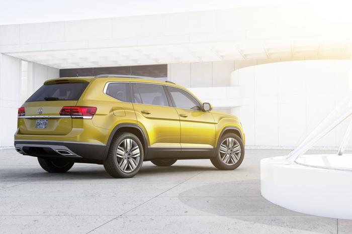 """VW Atlas 2018 - """"Át chủ bài"""" của VW tại Mỹ - 5"""