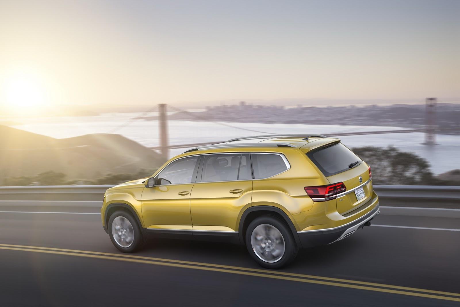 """VW Atlas 2018 - """"Át chủ bài"""" của VW tại Mỹ - 3"""
