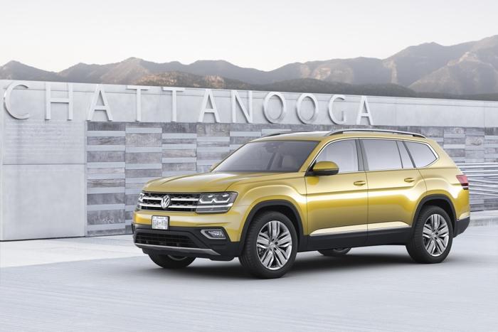 """VW Atlas 2018 - """"Át chủ bài"""" của VW tại Mỹ - 4"""