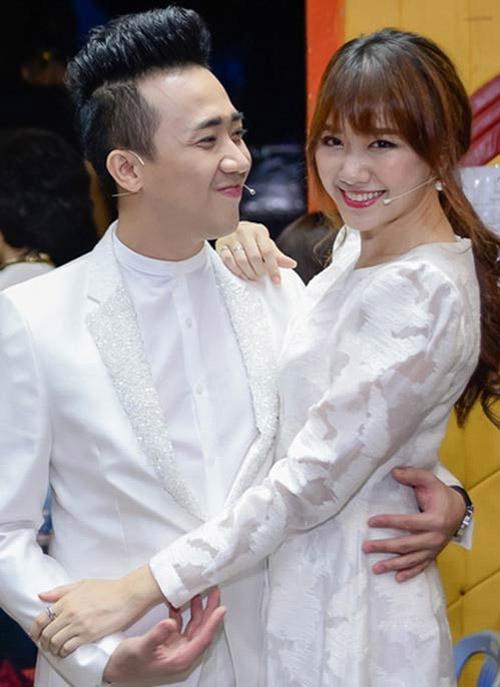 Trấn Thành, Hari Won bí mật đặt may đồ cưới? - 2