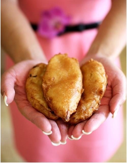 Bánh chuối chiên vàng ươm trong kí ức trẻ thơ - 6