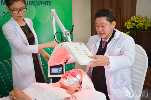 Công nghệ phủ bóng trắng da Meso Pure White chính thức về VN - 2