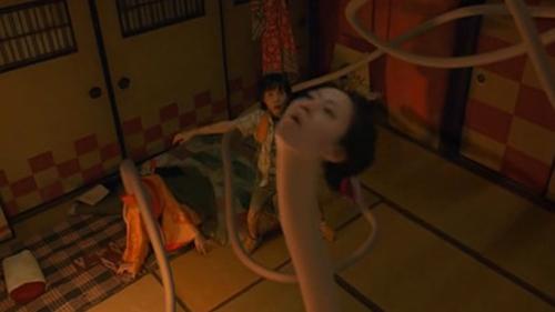 """Kinh hãi với """"thiếu phụ cổ dài"""" nổi tiếng trong phim Nhật - 7"""