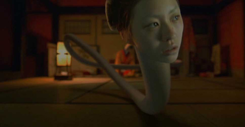 """Kinh hãi với """"thiếu phụ cổ dài"""" nổi tiếng trong phim Nhật - 8"""