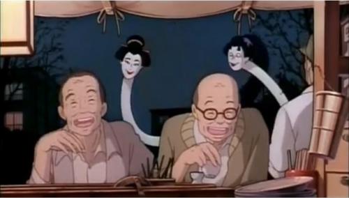 """Kinh hãi với """"thiếu phụ cổ dài"""" nổi tiếng trong phim Nhật - 11"""
