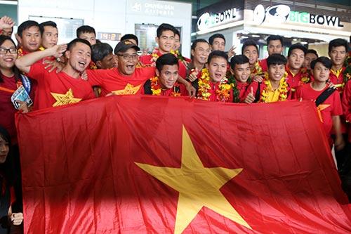 """U19 Việt Nam với kỳ tích World Cup """"đại náo"""" Tân Sơn Nhất - 6"""