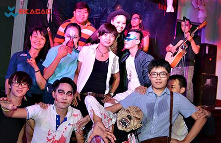 Rực rỡ dạ vũ Halloween 2016 tại BKACAD - 7