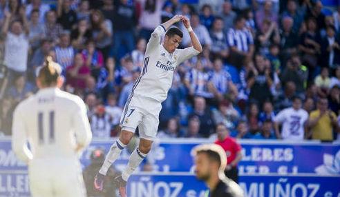 Tiêu điểm Liga V10: Ronaldo tỉnh giấc, Real thăng hoa - 1