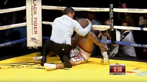 Boxing: Knock-out trò, cáu tiết tẩn luôn thầy - 2