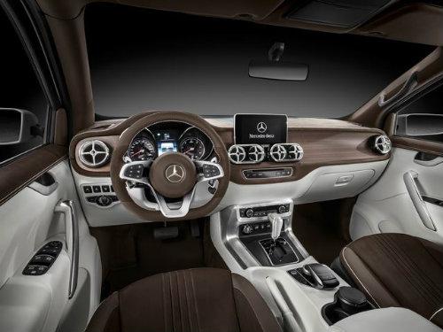 Mercedes-Benz X-Class rò rỉ, khiến vua bán tải F-150 sợ - 5