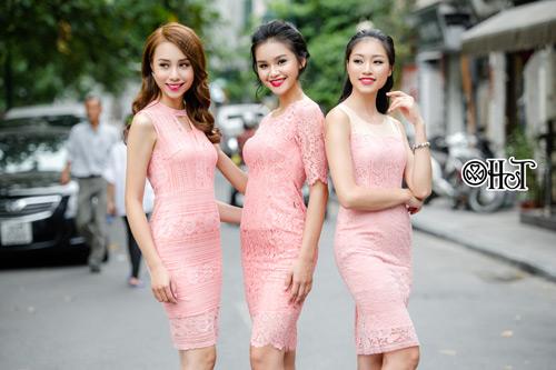 Váy ren ngọt ngào cho ngày thu nắng - 8