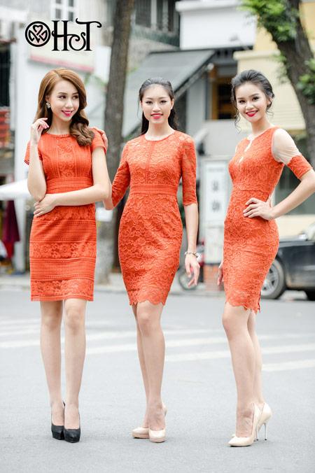Váy ren ngọt ngào cho ngày thu nắng - 6