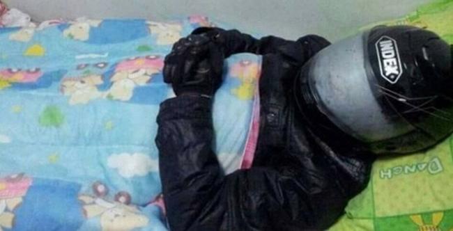 Đi ngủ cũng phải cẩn thận để ngủ cho ngon.