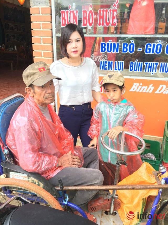 Quảng Bình: Cô học trò nghèo cùng ông đi xin ăn từng bữa - 3