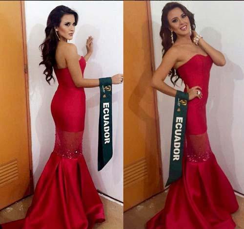 Ngắm đường cong nóng bỏng của Tân Hoa hậu Trái Đất - 10