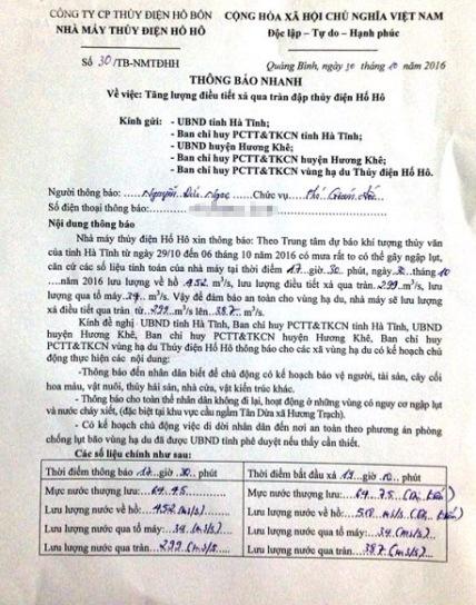 Thủy điện Hố Hô xả lũ, nhiều xã ở Hà Tĩnh lại ngập nặng - 2