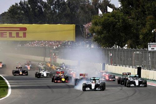 F1, Mexican GP: Những án phạt đầy tranh cãi - 1