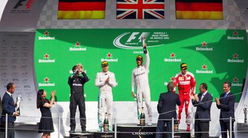 F1, Mexican GP: Những án phạt đầy tranh cãi - 2