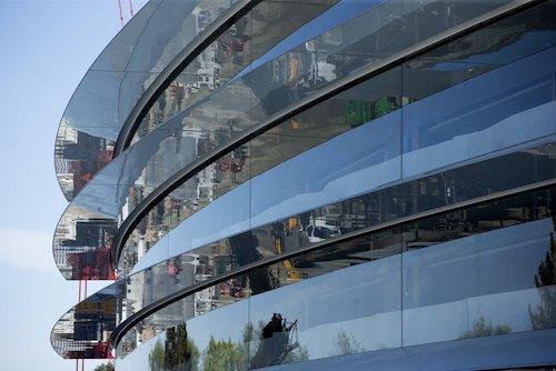 """Cận cảnh """"phi thuyền không gian"""" Campus 2 của Apple - 11"""
