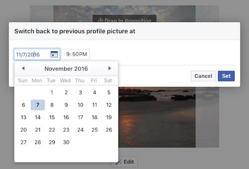 Cách làm ảnh đại diện hẹn giờ trên Facebook - 2