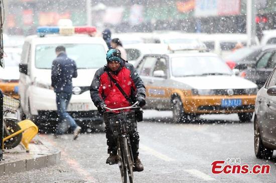 Trung Quốc: Rét kỉ lục, tuyết phủ trắng xóa nhiều nơi - 5