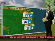 Tin tức trong ngày - Dự báo thời tiết VTV 31/10: Miền Bắc mưa rét