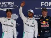 """Thể thao - BXH F1 - Mexican GP: Đua vô địch """"căng như dây đàn"""""""