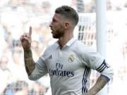 Bóng đá - Tin HOT bóng đá tối 31/10: Ramos là hậu vệ hay nhất thế giới