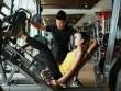 Ngắm Quán quân Next Top Ngọc Châu gợi cảm tập gym
