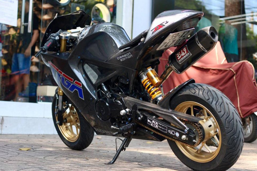 MSX 125 biến hình thành MotoGP độc nhất Sài thành - 7