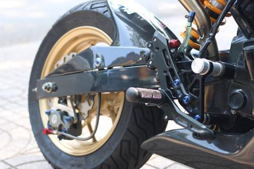 MSX 125 biến hình thành MotoGP độc nhất Sài thành - 9