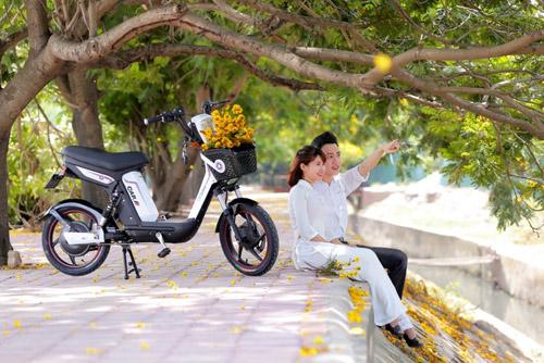 """Xe đạp điện trang bị phanh đĩa cao cấp """"hút hồn"""" giới trẻ Việt - 4"""
