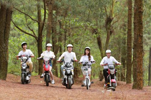 """Xe đạp điện trang bị phanh đĩa cao cấp """"hút hồn"""" giới trẻ Việt - 6"""