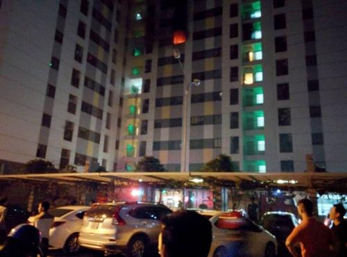 Đã xác định nguyên nhân cháy chung cư ở Linh Đàm - 2