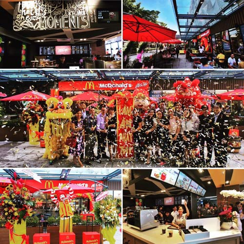 Thương hiệu McDonald's đã có mặt tại sân bay Tân Sơn Nhất - 1