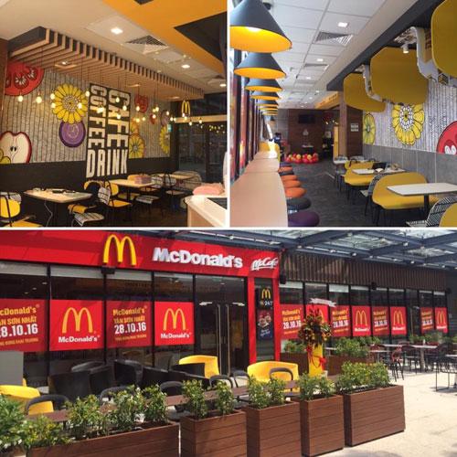 Thương hiệu McDonald's đã có mặt tại sân bay Tân Sơn Nhất - 2