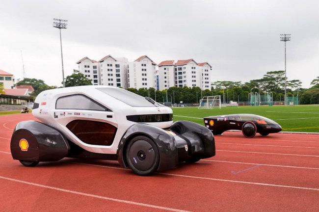 NTU Venture 8 và NTU Venture 9 được trình diện lần đầu tại Singapore vào tháng 2 năm 2015.